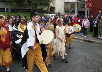 Grand Entrance, Juneau Celebration, 2008