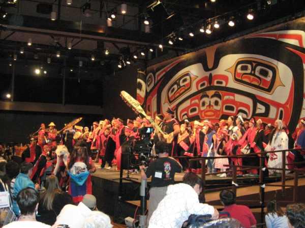 Grand Exit, Celebration 2008 - Juneau, Alaska