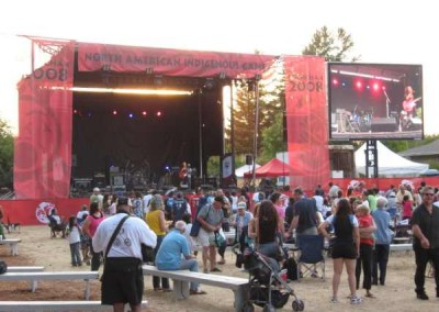 Main Stage Performance, North American Indigenous Games - Cowichan, B.C.