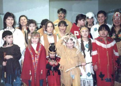 Skookum Jim Friendship Centre's Folklore Show, 1984