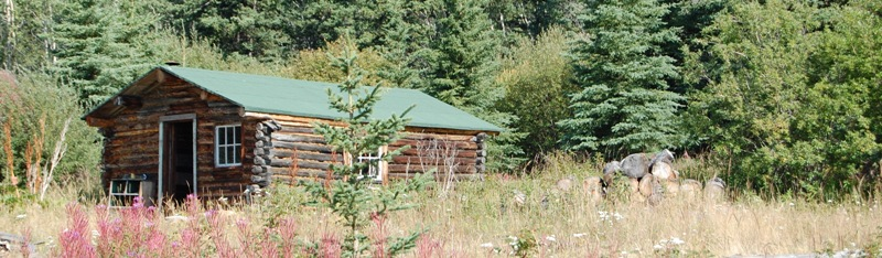 Restored the Sophie Miller Cabin, Upper Laberge Village