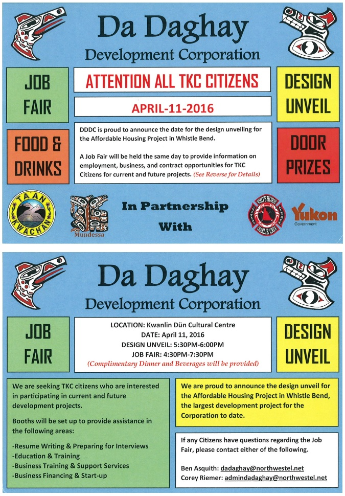 Da Daghay Job Fair 2016