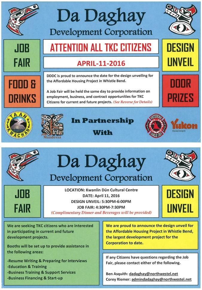 Da Daghay Job Fair 2016